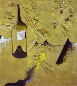Joan Miró (1893-1983), La bottiglia di vino, 1924, Fondacion Joan Mirò, Barcellona