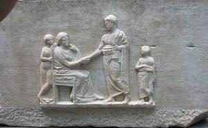 Stele funeraria di Proclo