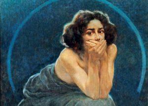 Giorgio Kienerk, Il silenzio, 1900