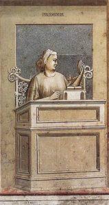 Giotto, Prudenza, 1306