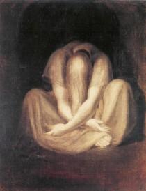 "J. H. Fussli, ""Il silenzio"", 1799-1800. Olio su tela. Zurigo, Kunsthaus"