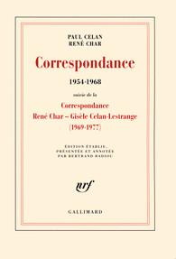 Paul Celan , René Char-Correspondance (1954-1968)