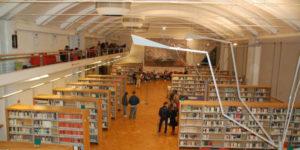 Sala di lettura dei Dipartimenti, Biblioteca San Giorgio Pistoia