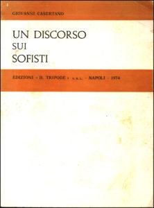 1974 Un discorso sui sofisti