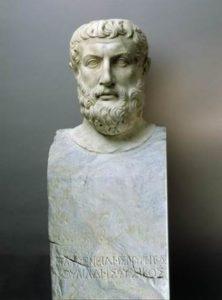 Erma di Parmenide. Museo archeologico di di Ascea marina (antica Velia)02