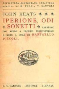 Iperione, odi e sonetti, 1949