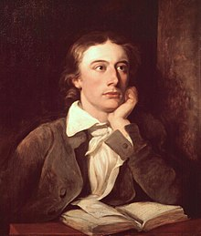 John Keats, dipinto di William Hilton