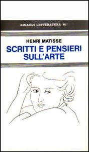 Scritti e pensieri sull'arte, Einaudi 1979