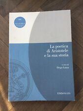 2007 La Poetica e la sua storia
