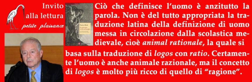 Enrico Berti 2019-01