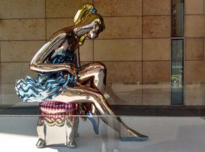 Jeff Koons', 'Ballerina'