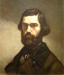 Jules Vallès, di Gustave Courbet