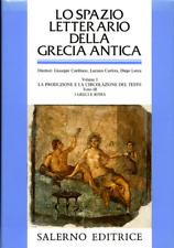Lo spazio letterario della Grecia antica