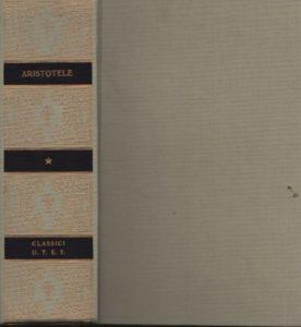 Opere biologiche di Aristotele, Utet,1996