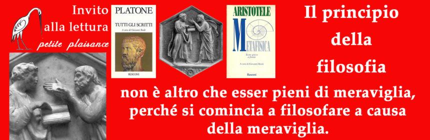 Platone & Aristotele, meraviglia