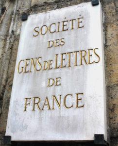 Société des Gens de Lettres de France