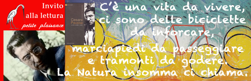 Cesare Pavese in bicicletta copia