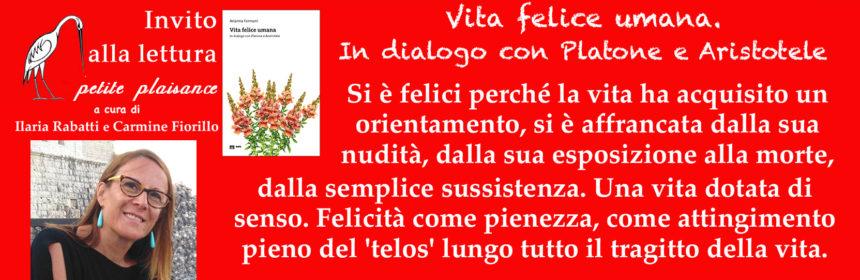 Arianna Fermani_Nuova ed. Vita felice umana