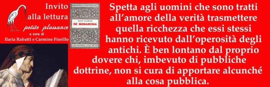 Dante Alighieri_Monarchia