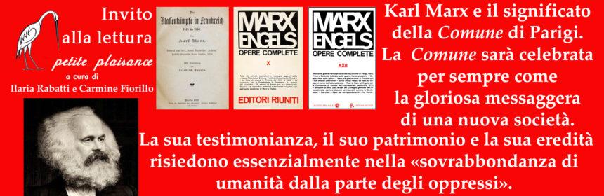 Karl Marx e la Comune di Parigi