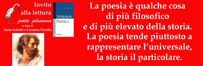 Aristotele -filosofia poesia e storia
