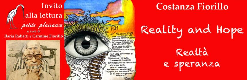 Costanza Fiorillo, Realtà e speranza- Giorno della memoria 2020