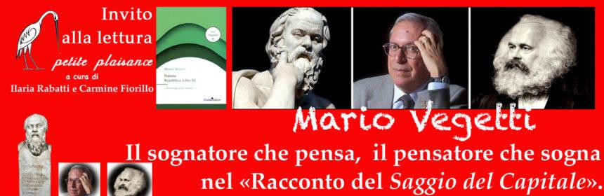 Mario Vegetti, sognatore che pensa, pensatore che sogna