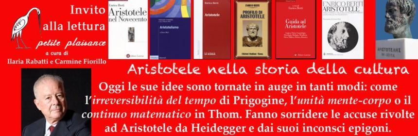 Enrico Berti e la fortuna di Aristotele