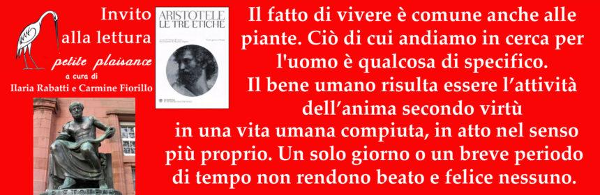 Aristotele, Etica nicomachea Tre etiche