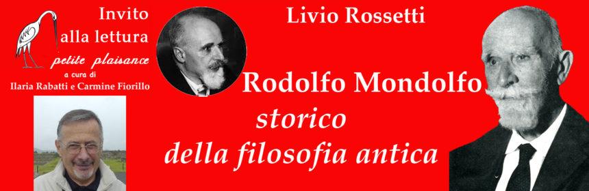 Livio Rossetti-Rodolfo Mondolfo