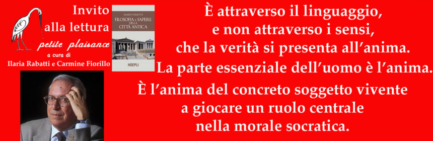 Mario Vegetti - Filosofia e sapere della città antica