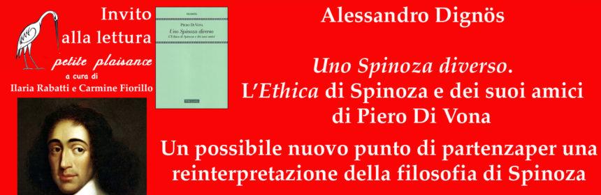 Spinoza- Di Vona Pietro-Alessandro Dignös