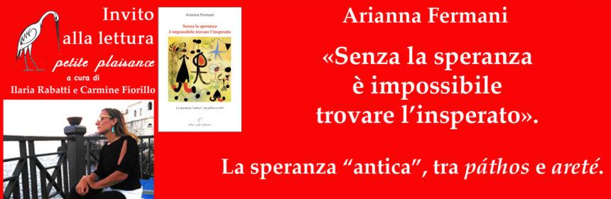 Arianna Fermani, speranza