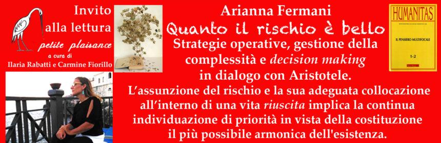Arianna Fermani - Il rischio è bello