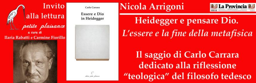 Heidegger- Arrigoni