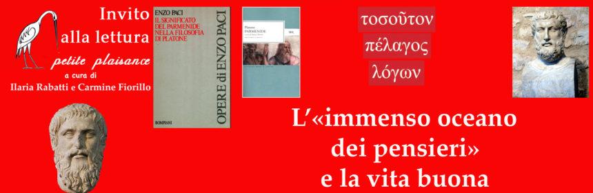 Parmenide-Platone-Franco Toscani