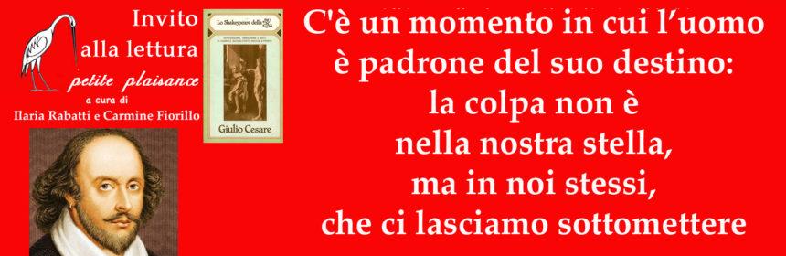 William Shakespeare_Giulio Cesare