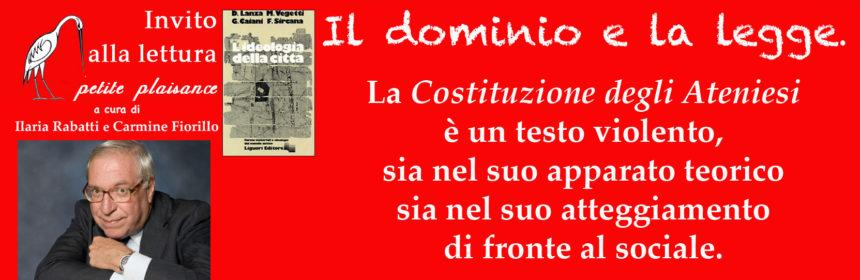 Mario Vegetti - Costituzione degli Ateniesi