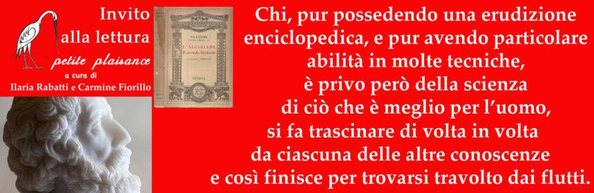 Platone - Alcibiade minore 01