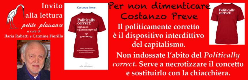 Costanzo Preve - Politically correct