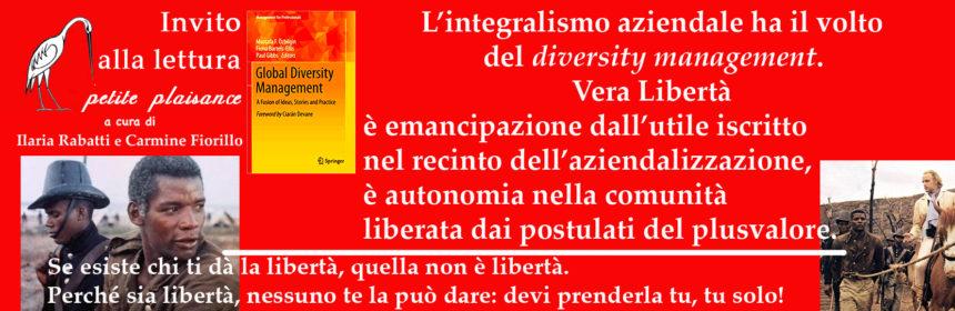 Diversity management:vera libertà