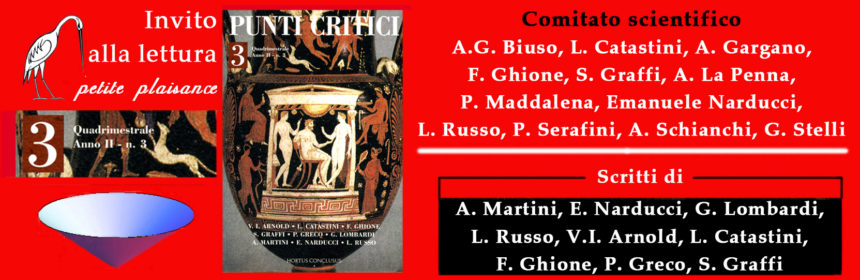 Punti Critici n. 3