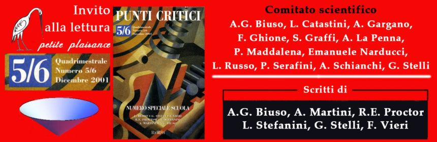 Punti Critici n. 5-6