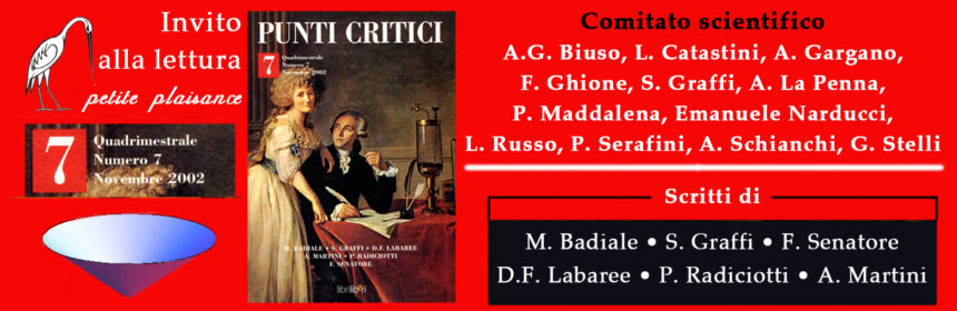 Punti Critici n. 7