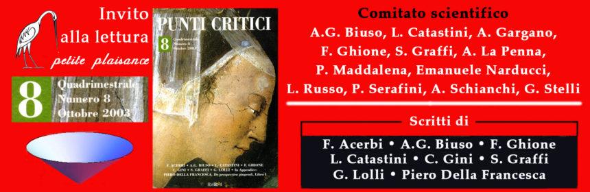 Punti Critici n. 8