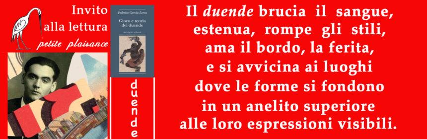 Federico Garcia Lorca _Duende