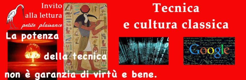 Tecnica e cultura classica
