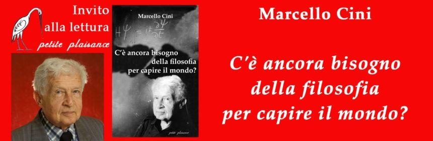 Marcello Cini_ancora filosofia