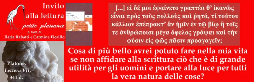 Platone Lettera VII 01