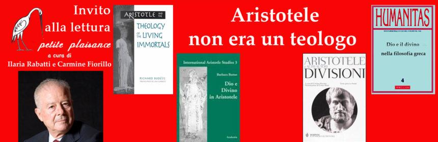 Enrico Berti - Aristotele non era teologo